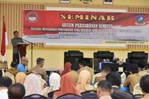 Dalmasri saat seminar