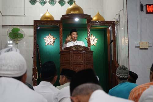 Penjabat Walikota Tanjungpinang Berikan Tausiyah.