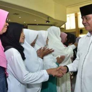 Dalmasri menyapa Jamaah Haji