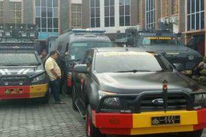 Pengamanan pleno KPU Tpi