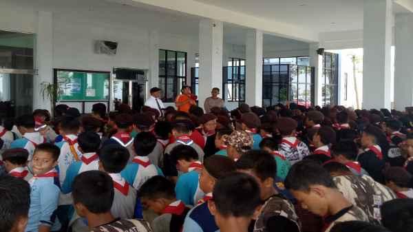 DPRD Kepri Terima Anak-Anak Pramuka