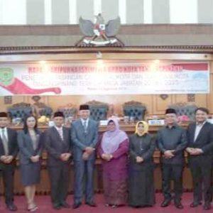 Foto Bersama Walikota Terpilih