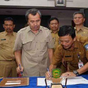 Pemko MoU dengan Kabupaten Siak