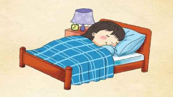 Tidur ilustrasi