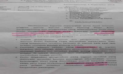 Surat Edaran Satpol PP