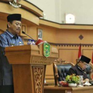 Walikota Tanjungpinang Sampaikan APBD-P