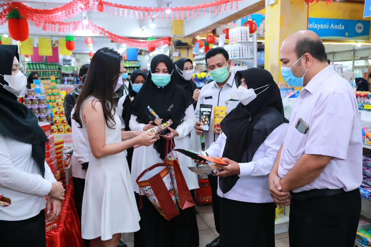 Rahma Launching Produk UMKM masuk Swalayan.